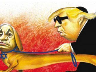 Caricatura publicada en el The New York Times que irritó al gobierno israelí